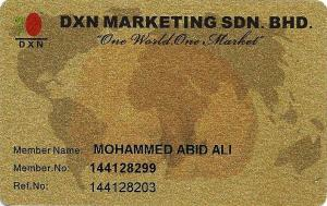 DXN Gold Card