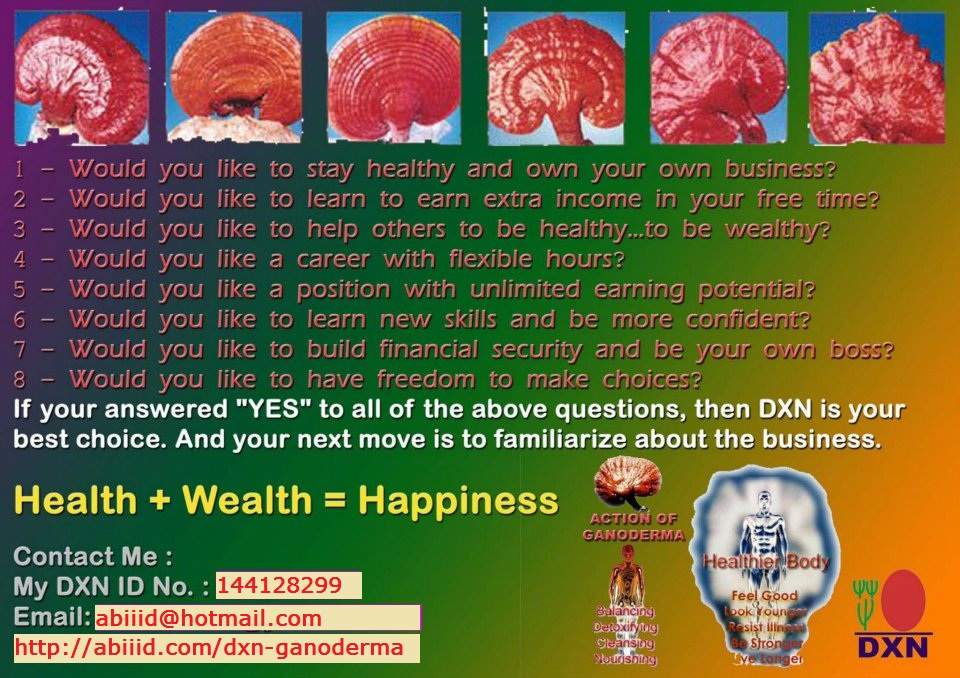 My DXN ID