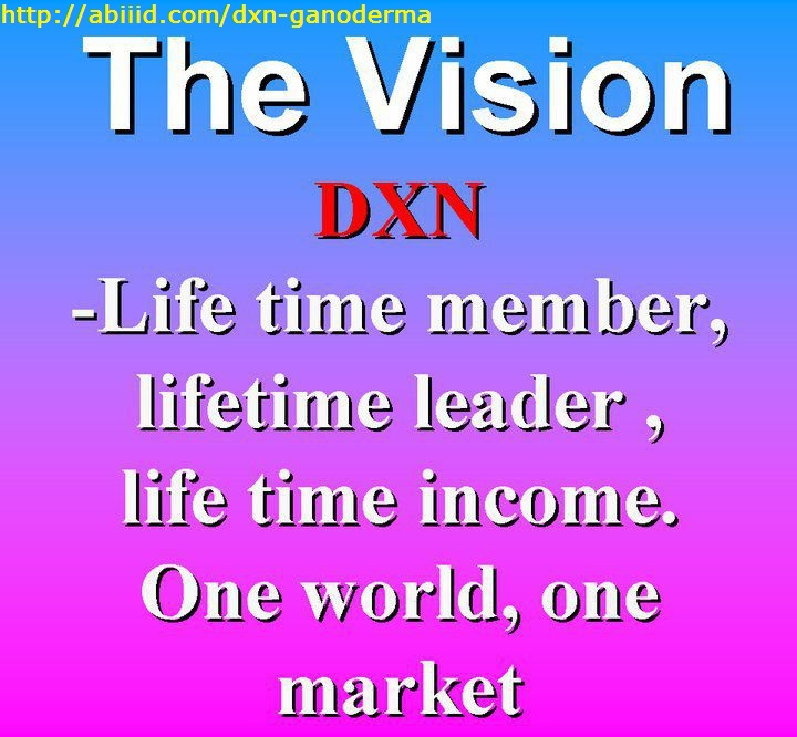 The Vision of DXN