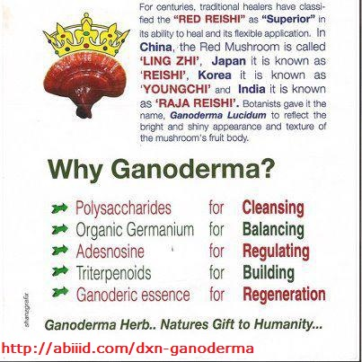 Why Ganoderma?