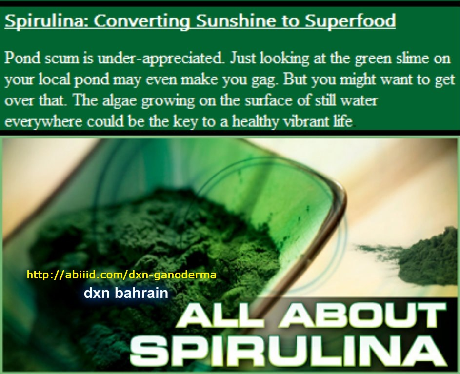 All About Spirulina