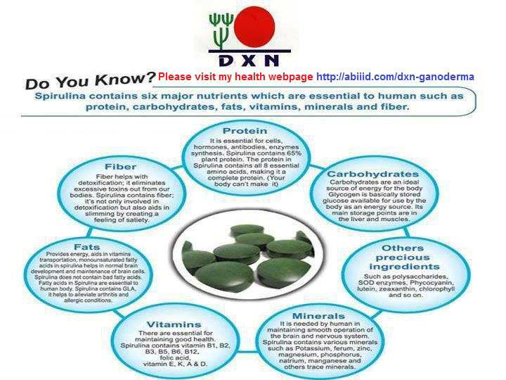 Do you know spirulina