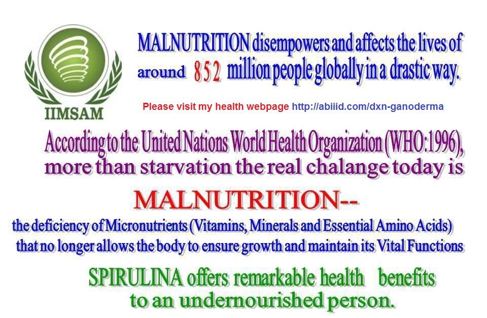 Malnutrition and Spirulina