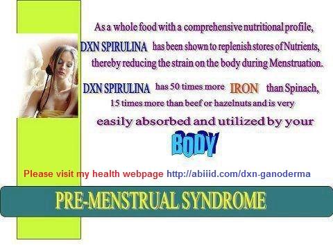 Spirulina - Pre-Menstrual Syndrome