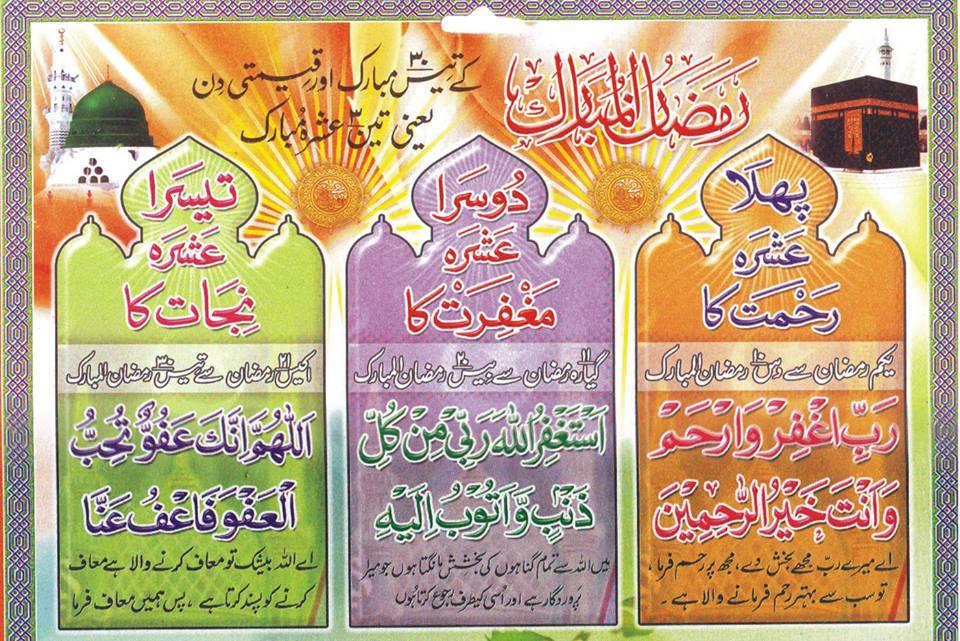 Ramazan ki duaen
